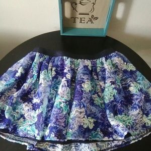 New Girls Tulle Sequined Skirt by Justice